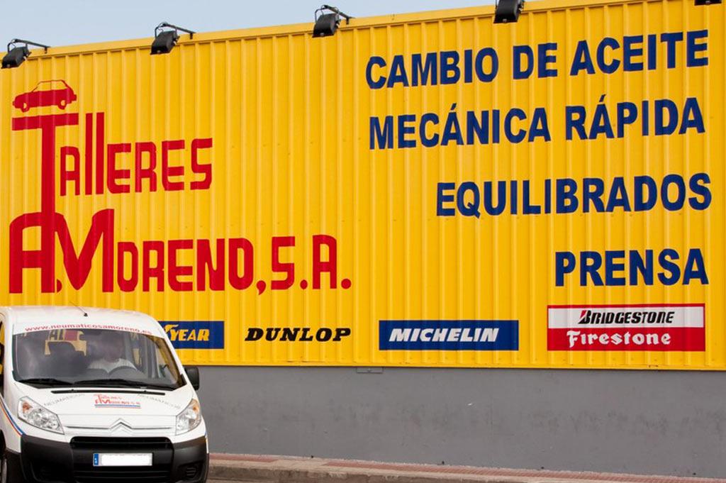 Neumáticos A. Moreno: desde 1980, tu taller de confianza para el cambio de aceite