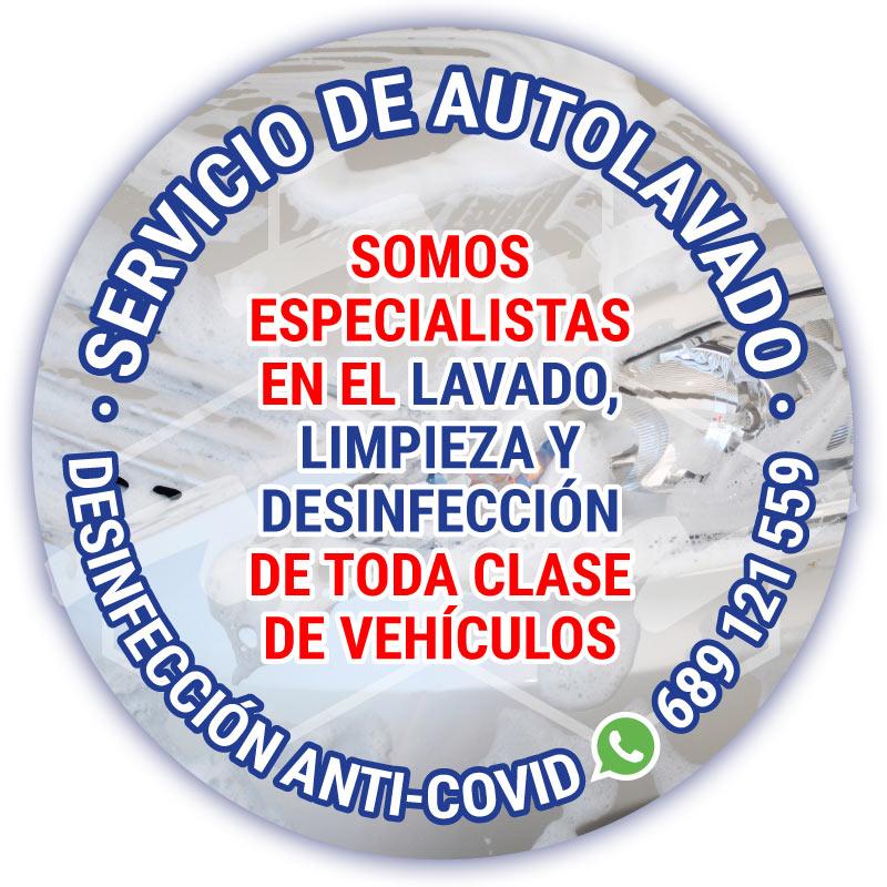 Neumáticos A. Moreno: tu taller de servicios de mecánica y neumáticos también autolavado y desinfección anti-COVID-19