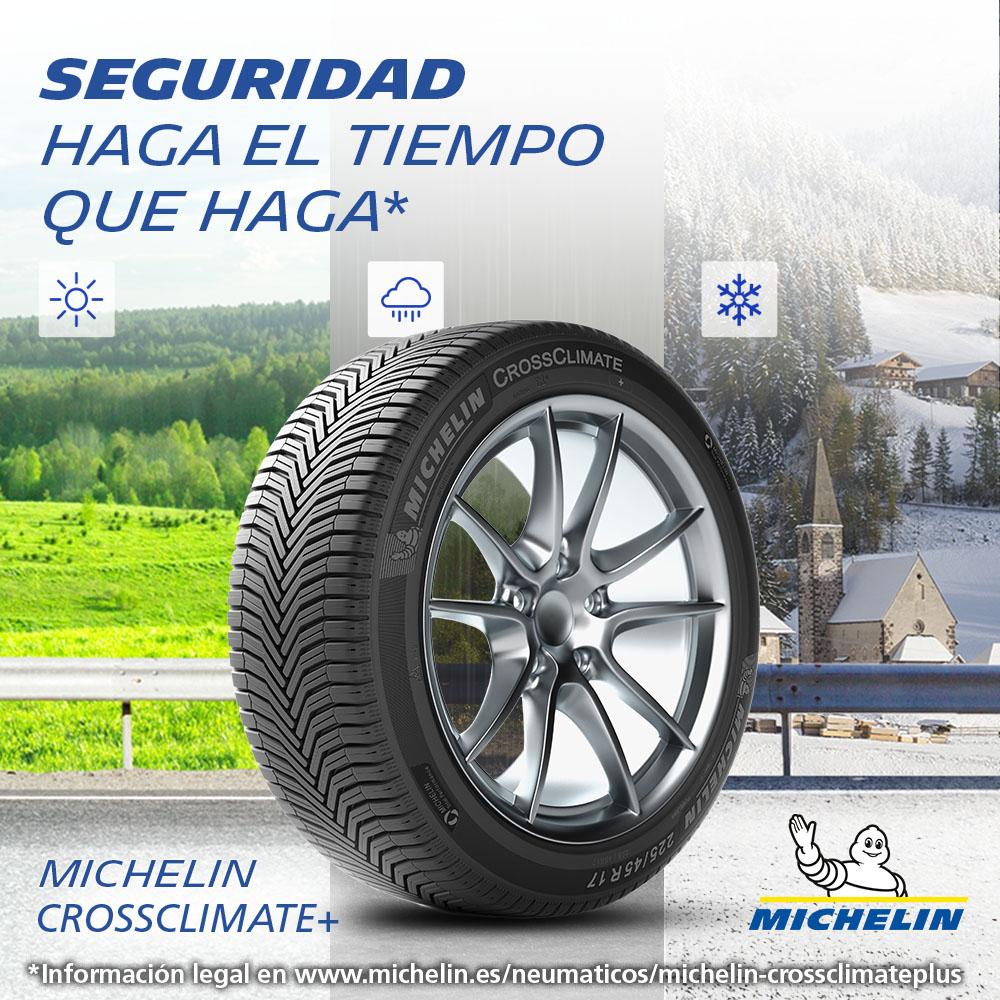 Michelin Crossclimate. Seguridad haga el tiempo que haga