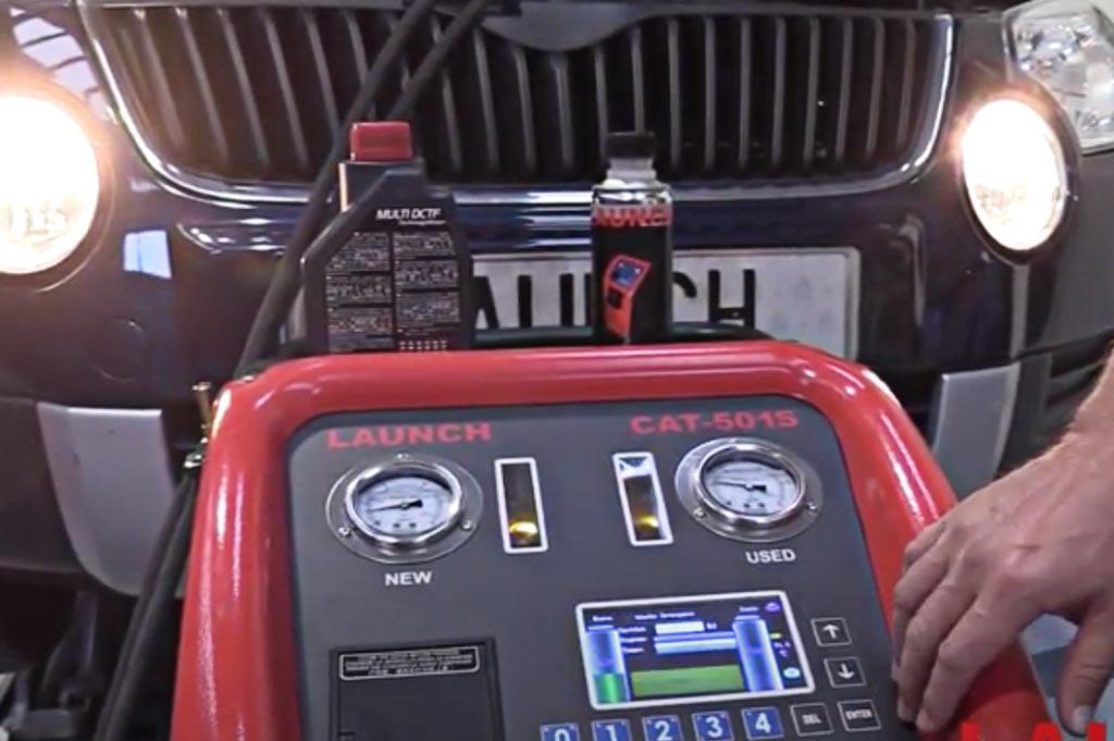 En Neumáticos A. Moreno usamos el sistema más rápido y eficiente del mercado para el cambio de aceite de tu vehículo: Launch Ibérica