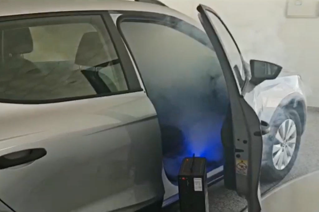 En Neumáticos A. Moreno usamos el descarbonizador de hidrógeno más rápido y eficiente del mercado para desinfectar tu vehículo: Metamorfosis Clean Power COVID-19