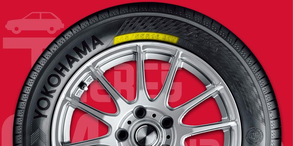 En Talleres A. Moreno te ayudamos a leer en tus neumáticos Yokohama lo que necesites saber para la revisión, cambio y mantenimiento de las ruedas de tu coche.