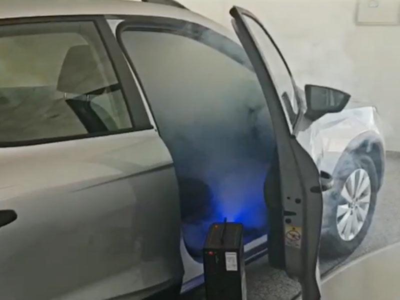 En Neumáticos A. Moreno usamos el descarbonizador de hidrógeno más rápido y eficiente del mercado para la desinfección de tu vehículo: Metamosfosis Clean Power COVID-19
